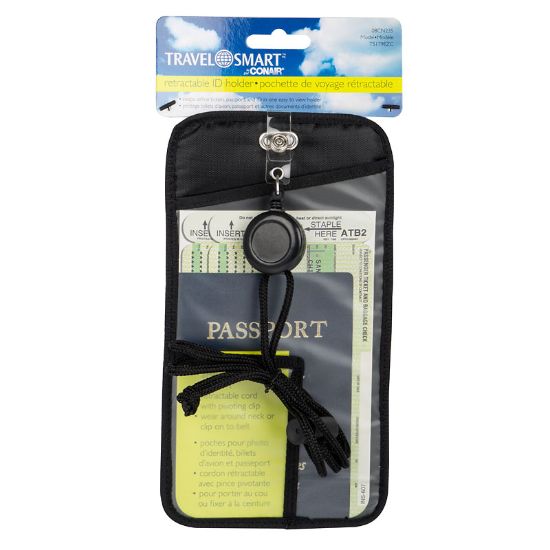 Travel Smart Retractable ID Holder