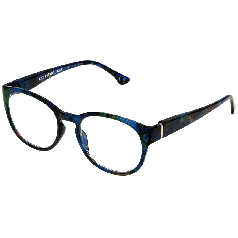 Foster Grant Everly Women's Reading Glasses - Blue Multicolour - 1.50