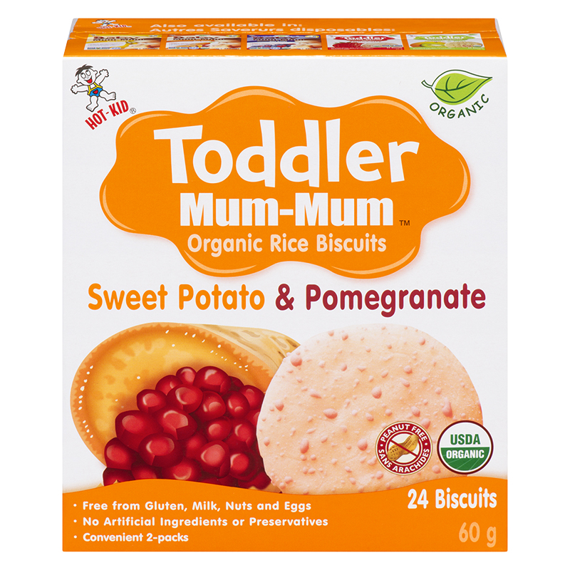 Toddler Mum-Mum - Sweet Potato and Pomegranate - 60g