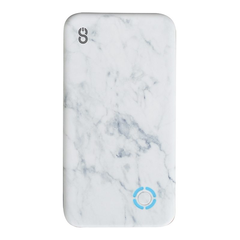 Logiix Piston Power 4000 mAh Portable Battery - Marble - LGX12781