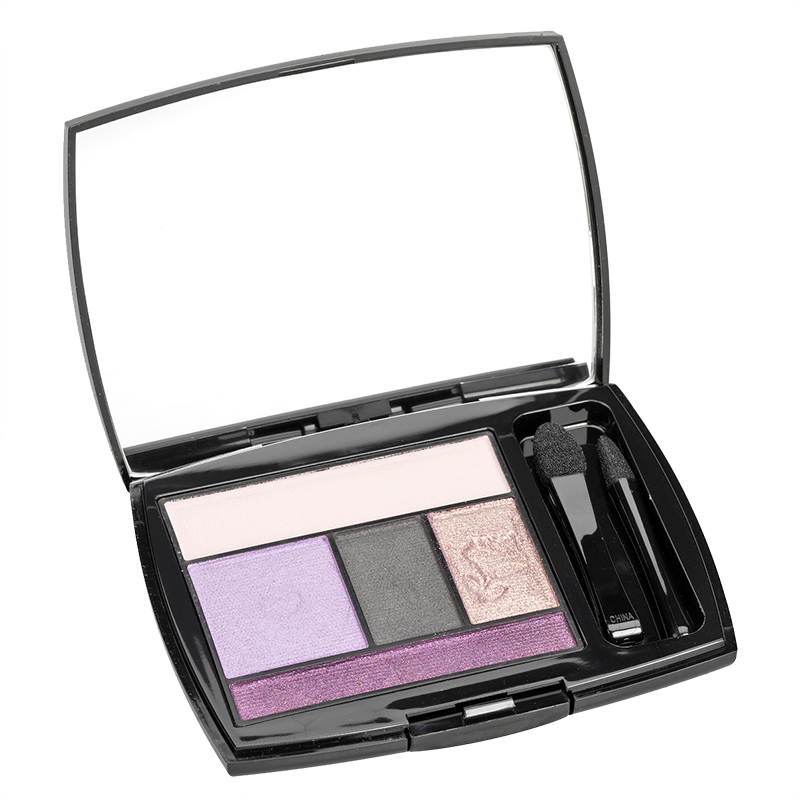 Lancome Color Design Eye Brightening All in One 5 Shadow and Liner Palette - Lavender Grace