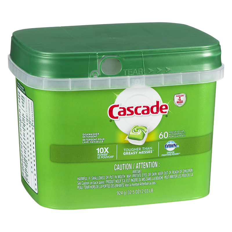 Cascade Complete Action Pacs - Fresh - 60's