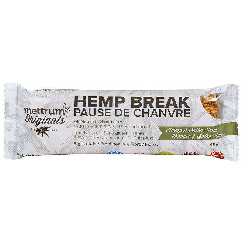 Mettrum Originals Hemp Break - Hemp & Salba Chia - 40g