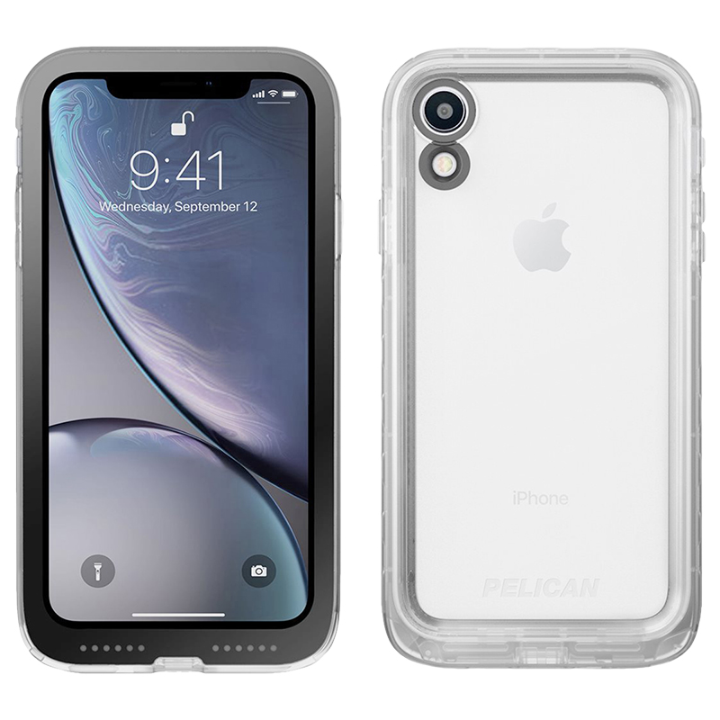 online retailer 78f0d 8bcb0 Pelican Marine Protective Case for iPhone Xr - Clear - C42040