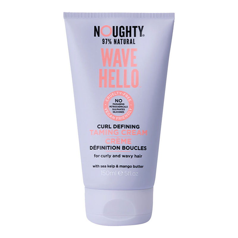 Noughty 97% Natural Wave Hello Curl Defining Taming Cream - 150ml