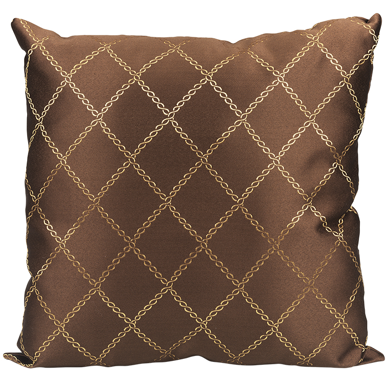 London Drugs Cushion - Dark Brown