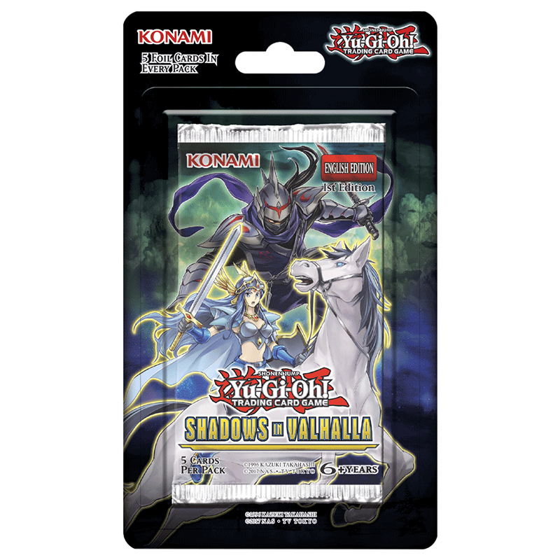 Yu-Gi-Oh Shadows Valhalla Blister Pack