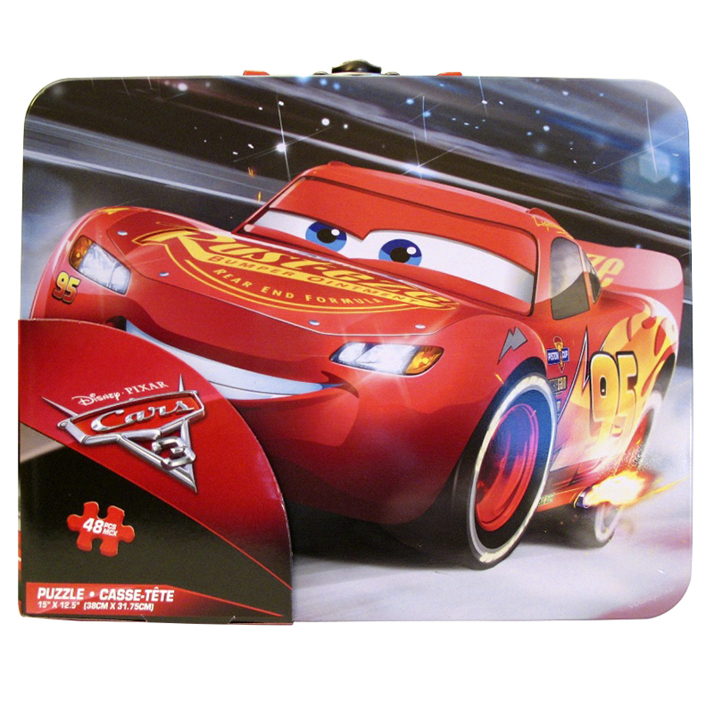 Cars 3 Puzzle Tin - 48 piece