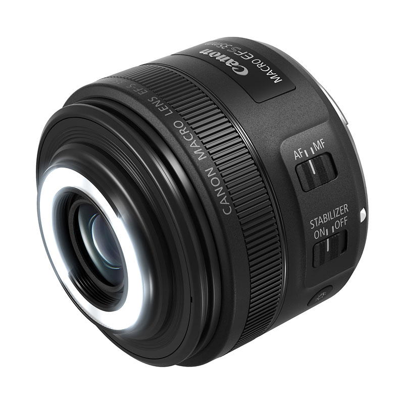Canon EF-S 35mm Macro IS STM Lens - 2220C002