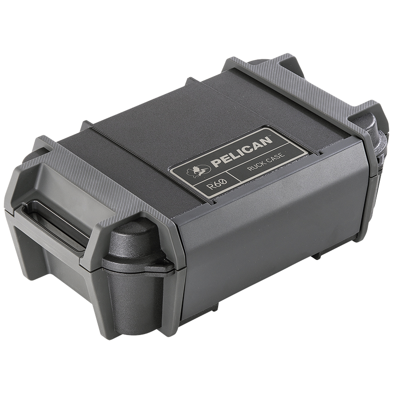 Pelican R60 Personal Utility Ruck Case - Black - RKR600-0000-BLK