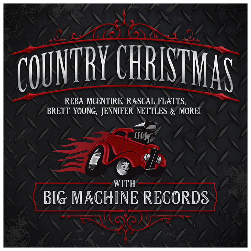Various Artists - Country Christmas with Big Machine Records - CD
