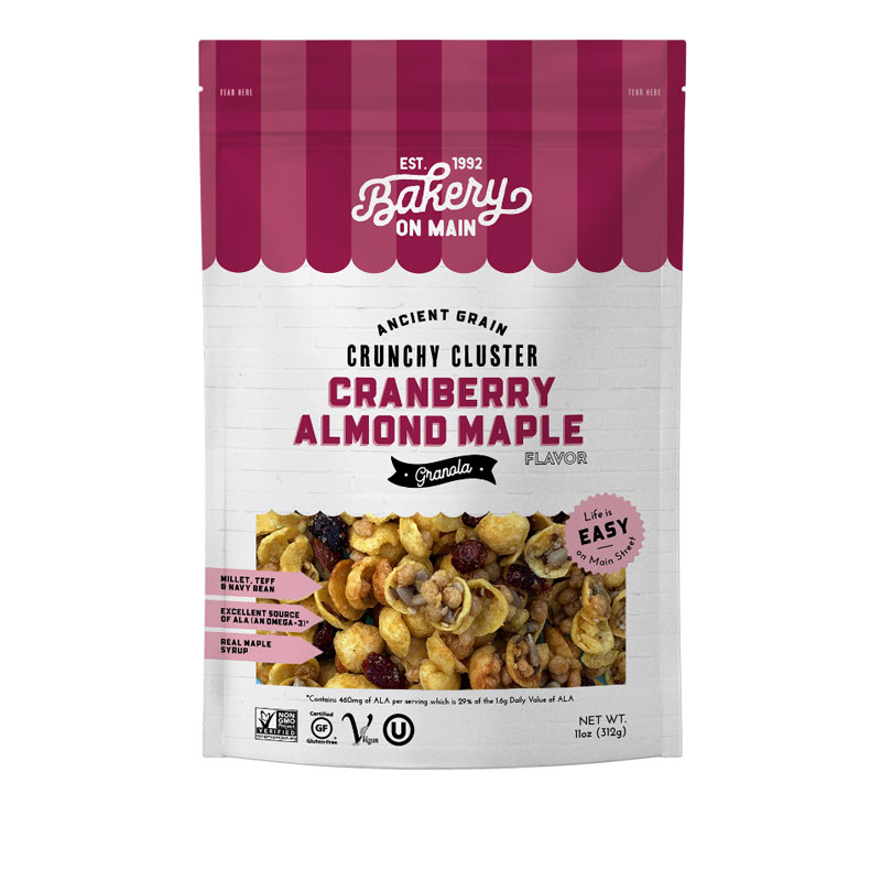 Bakery on Main Gluten Free Granola - Nutty Cranberry-Maple - 340g