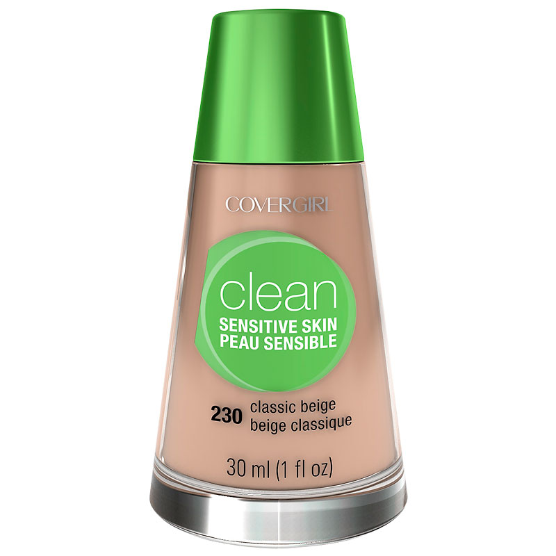 CoverGirl Clean Liquid Makeup for Sensitive Skin