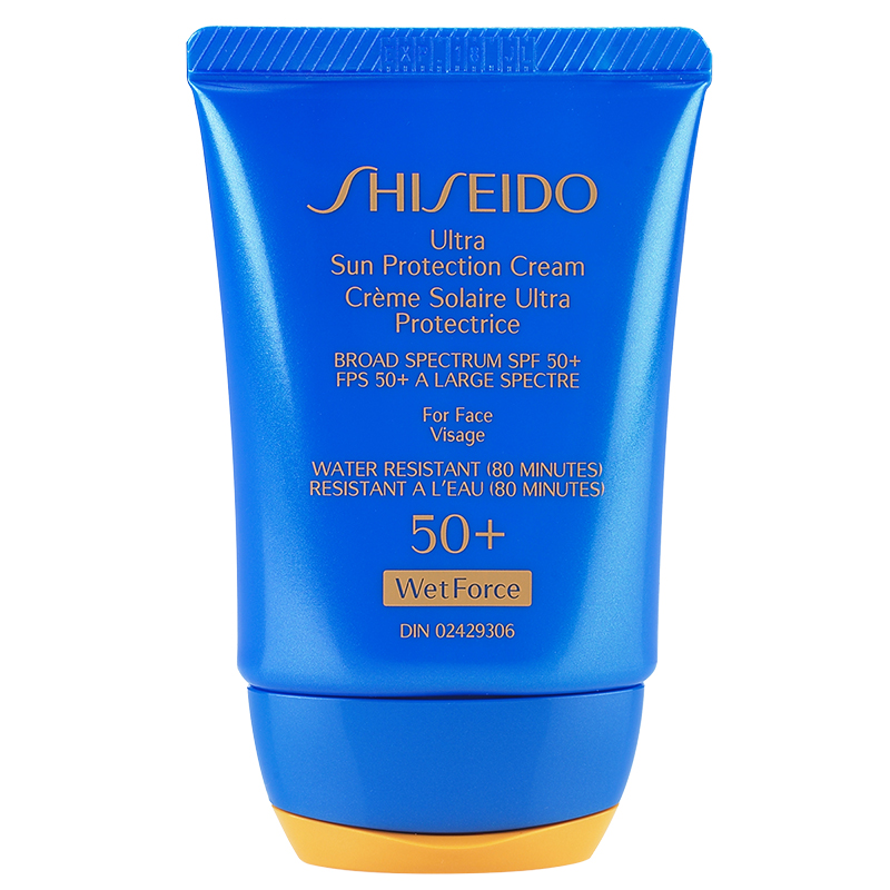 Shiseido Ultra Sun Protection Cream SPF 50+ WetForce - 30ml