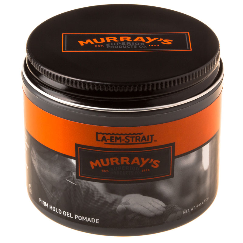 Murray's LA-EM STRAIT Gel Pomade - Firm Hold - 113g