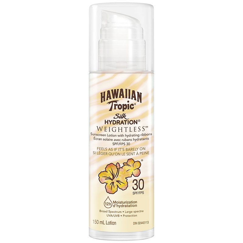 Hawaiian Tropic Silk Hydration Weightless Sunscreen Lotion - SPF30 - 150ml