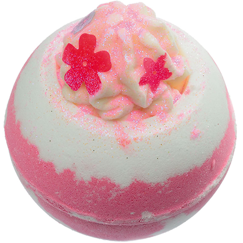 The Bomb Cosmetics Bath Balm - Fuchsia Falls Bath Blaster