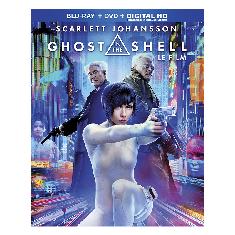 Ghost in the Shell (2017) - Blu-ray