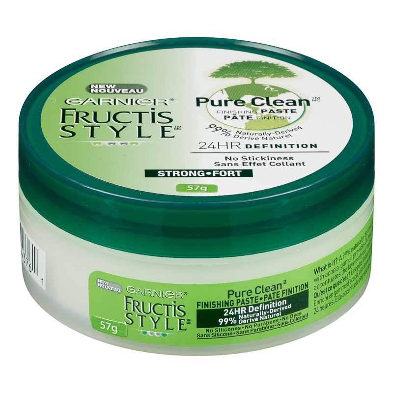 Fructis Pure Clean Finishing Paste/Wax - 57g