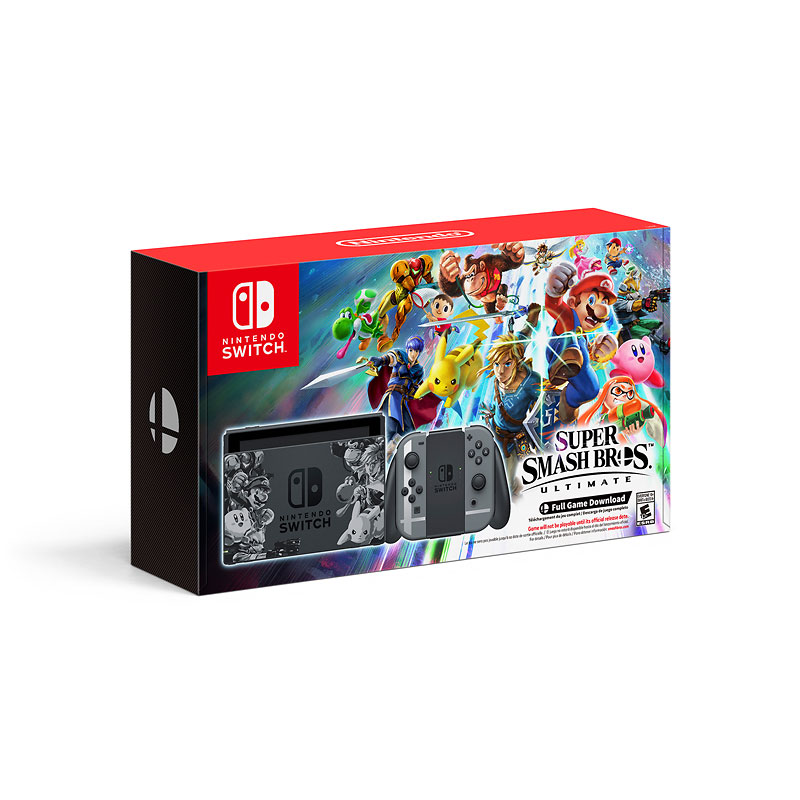 Nintendo Switch Super Smash Bros. Ultimate Hardware Bundle