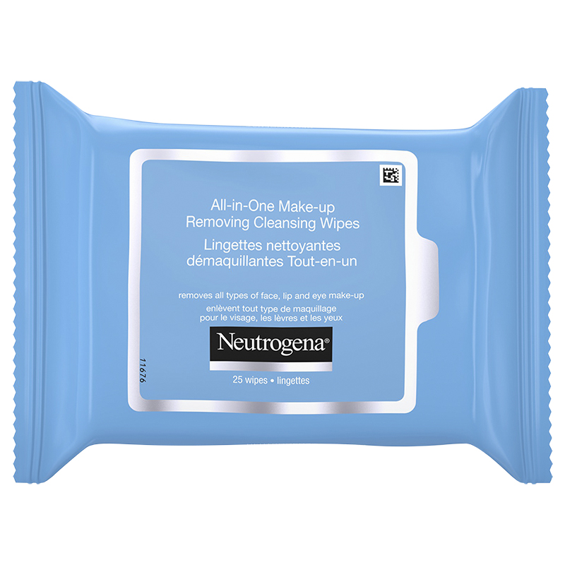 Neutrogena All-in-One Make-up Removing Cleansing Wipes - 25's | London Drugs