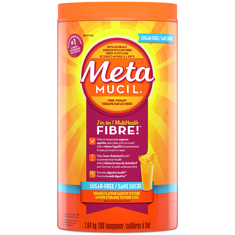 Metamucil 3in1 MultiHealth Fibre Smooth - Orange - 1.04kg