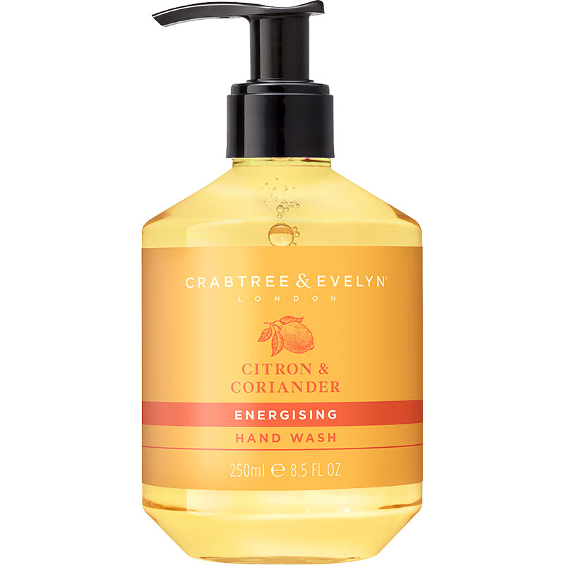 Crabtree & Evelyn Citron & Coriander Energising Hand Wash - 250ml