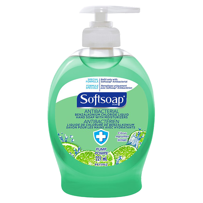 Softsoap Antibacterial Liquid Hand Soap - Citrus - 221ml