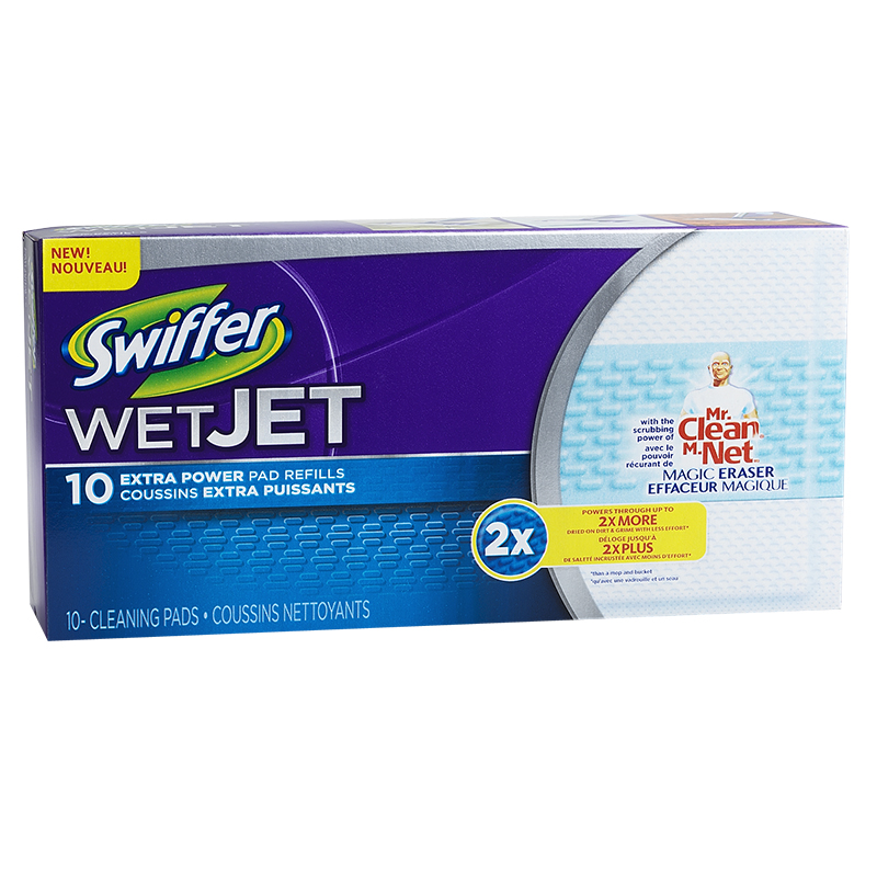 Swiffer WetJet Refills with Mr.Clean - 10 pads