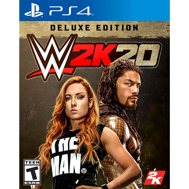PRE-ORDER: PS4 WWE 2K20 Deluxe Edition