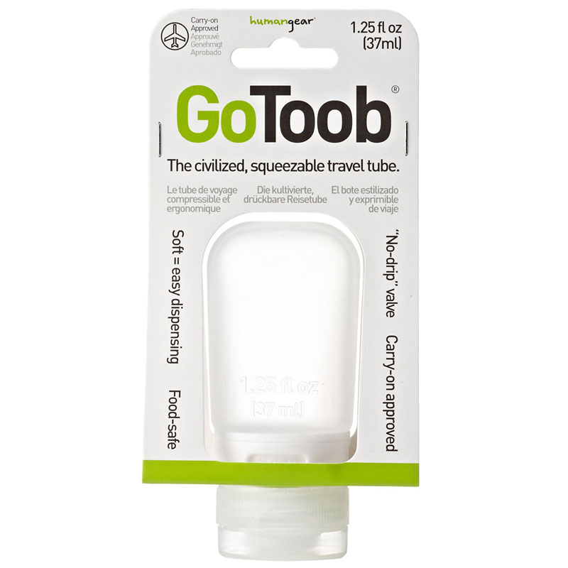 GoToob Travel Bottle - Clear - 37ml