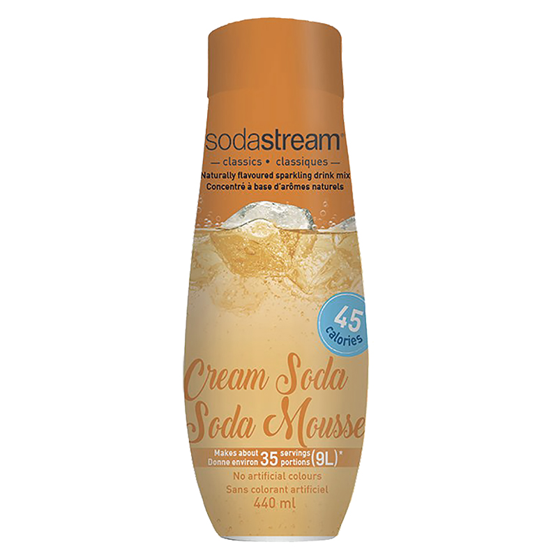 SodaStream Syrup - Cream Soda - 440ml