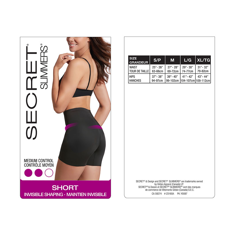 Secret Slimmer's Shape Shorts