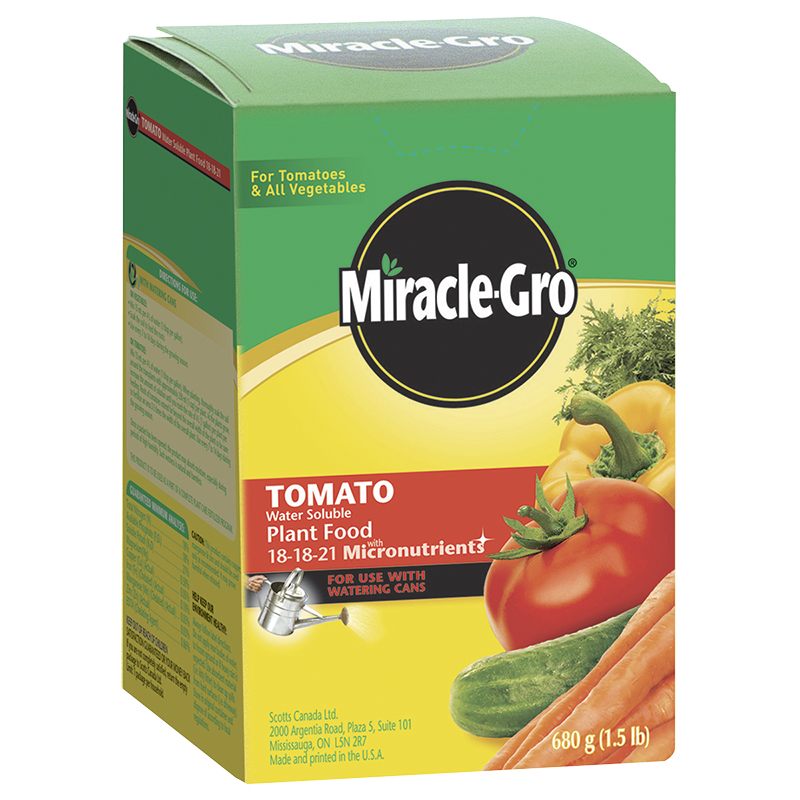 Miracle Gro Water Soluble Tomato Food - 680g