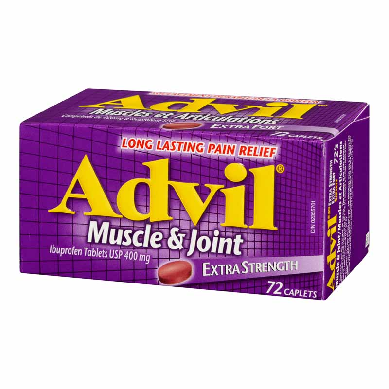 Advil Muscle & Joint Caplets - Extra Strength - 72's