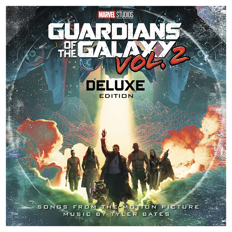Soundtrack - Guardians of the Galaxy Vol. 2 (Deluxe Edition) - 2 LP Vinyl
