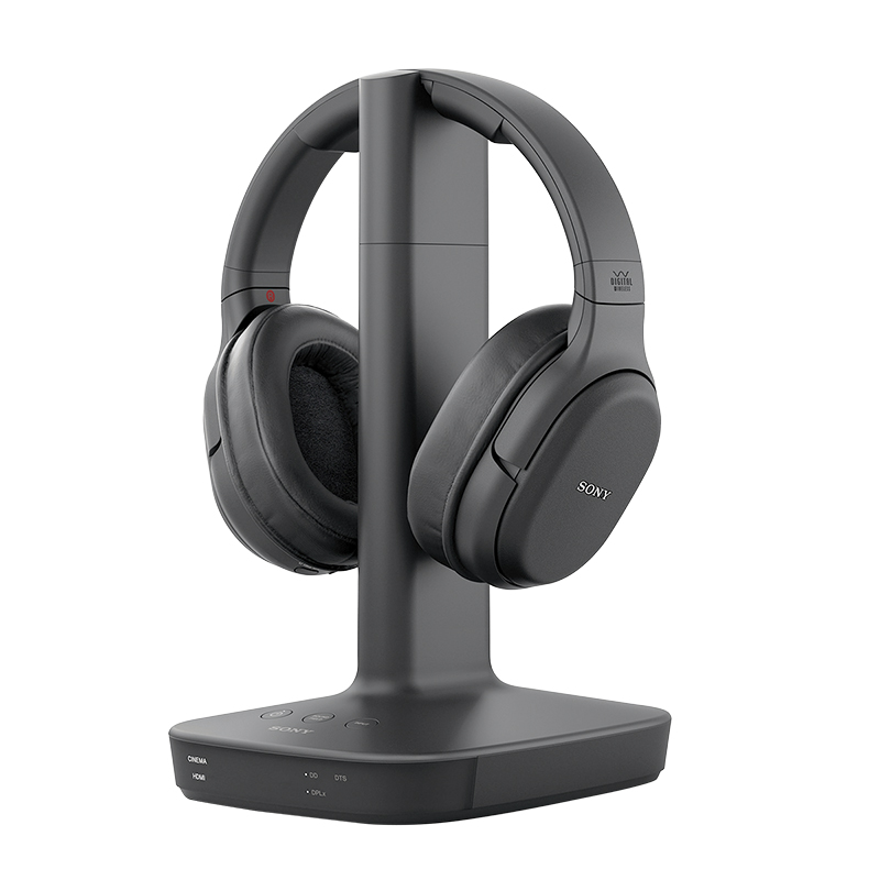 Sony RF Wireless Headphones - Black - WHL600B
