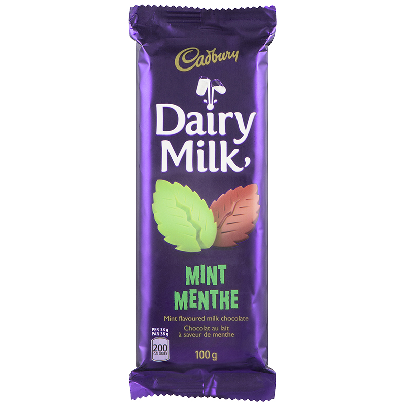 Cadbury Bar - Mint - 100g