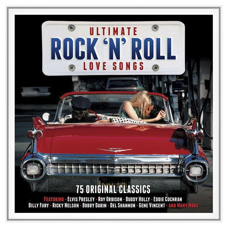 Various Artists - Ultimate Rock 'N' Roll Love Songs - 3 CD
