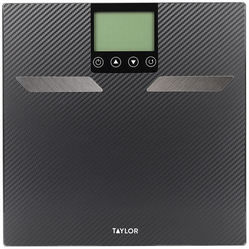 Taylor Body Fat Bath Scale - Carbon Fiber - 55904103FEF