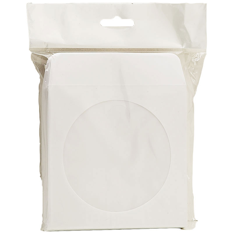 Certified Data CD Sleeve - 50 Pack