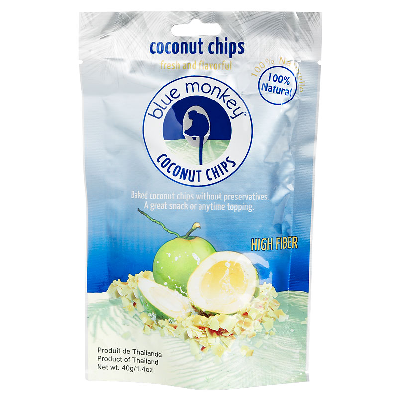 Blue Monkey Coconut Chips - 40g
