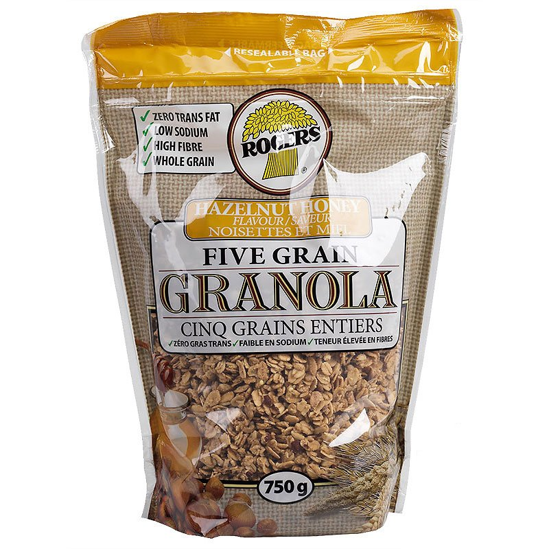 Rogers Granola - Hazelnut & Honey - 750 g