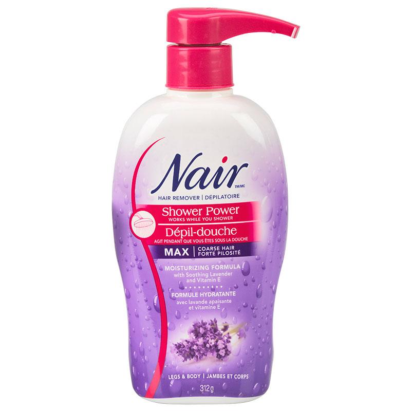 Nair Shower Power Max Hair Removal Cream 312g London Drugs