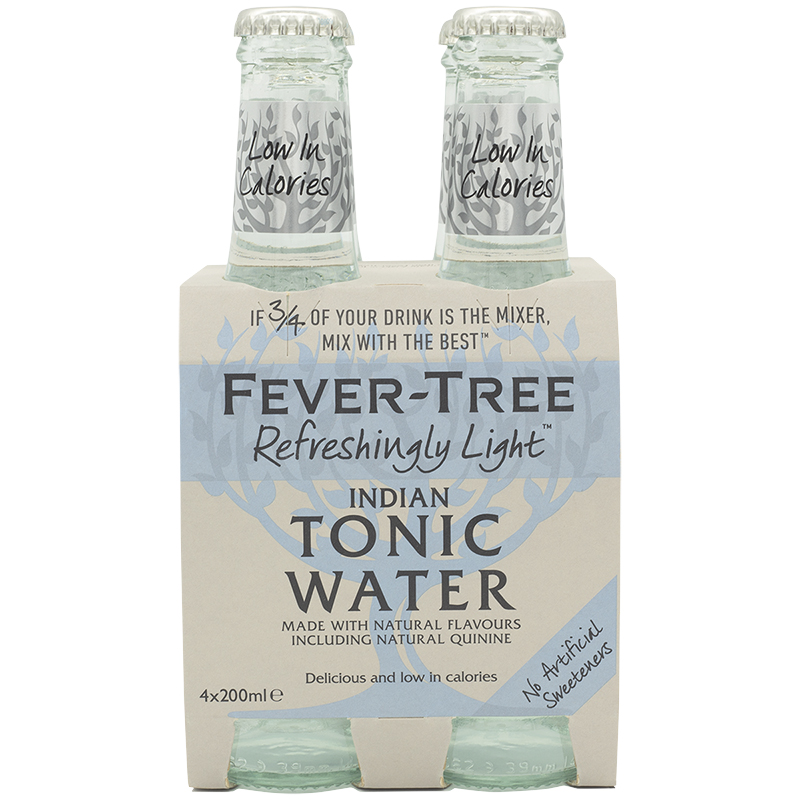 Fever-Tree Tonic Water - Light - 4x200ml