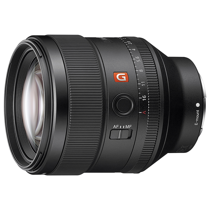 Sony FE 85mm F1.4 GM Lens - Black - SEL85F14GM