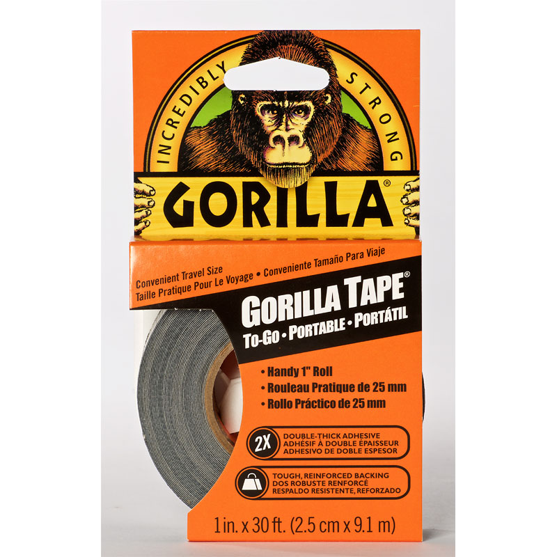 Gorilla Tape 1 Inch Handy Roll - 9 m