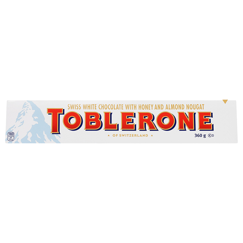 Toblerone - White Chocolate - 360g