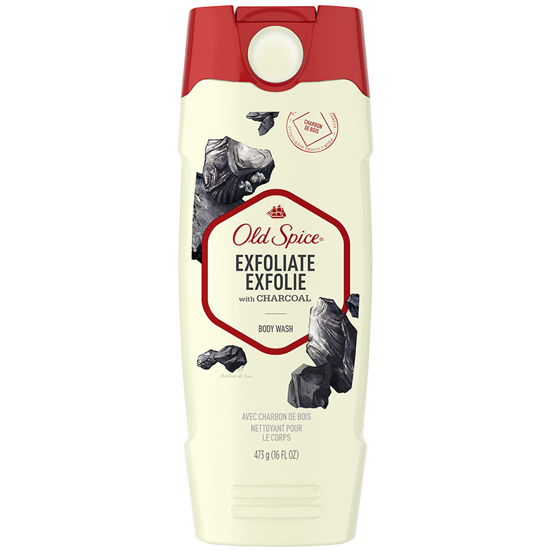 Old Spice Exfoliate with Charcoal Body Wash - 473ml