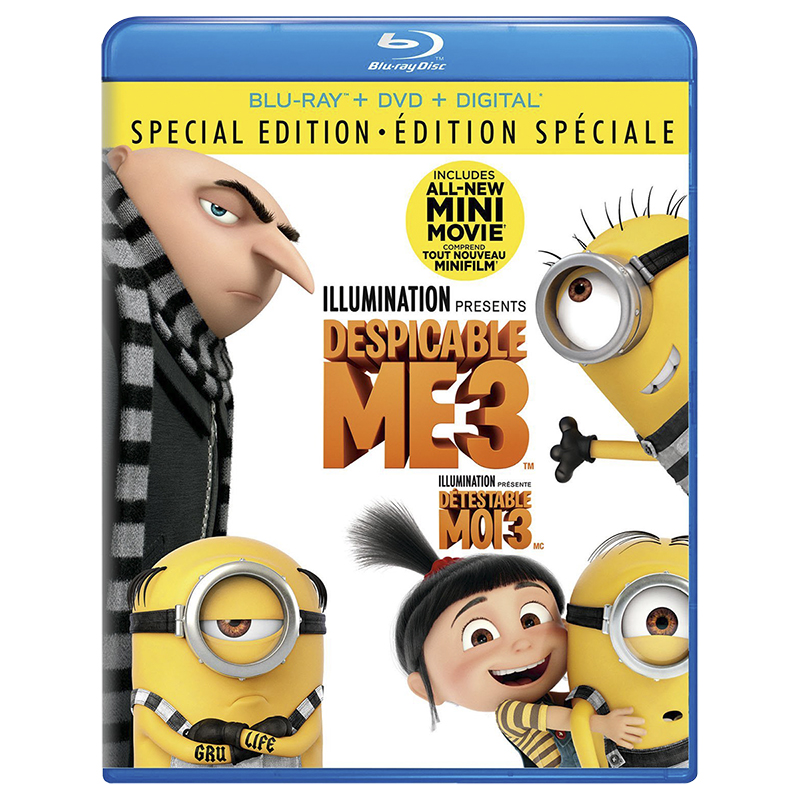 Despicable Me 3 - Blu-ray